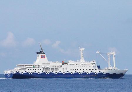 高速ジェット船の写真